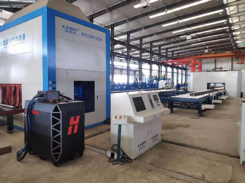 大型h型钢切割机