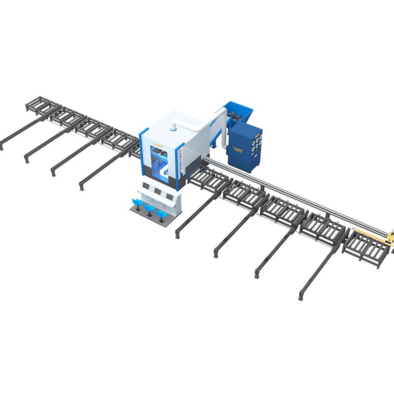360机器人切割生产线